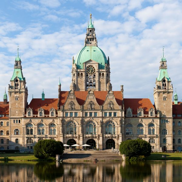 Hannover nun in der Welcome App Germany