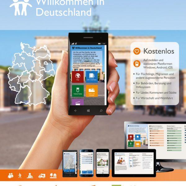 Zwei Jahre Welcome App Germany – zwei Jahre erfolgreiche Integrationshilfe