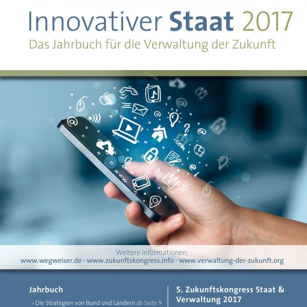 """Drei große Beiträge von uns im Buch """"Innovativer Staat"""""""